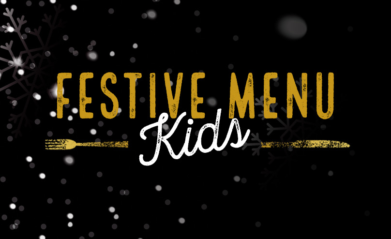 Festive Kids Menu at The Crown Hotel