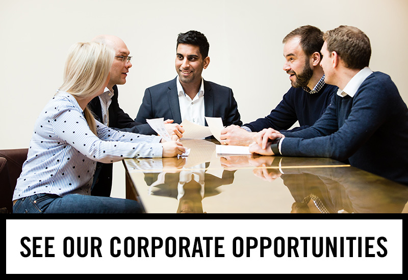 Corporate opportunities at The Crown Hotel