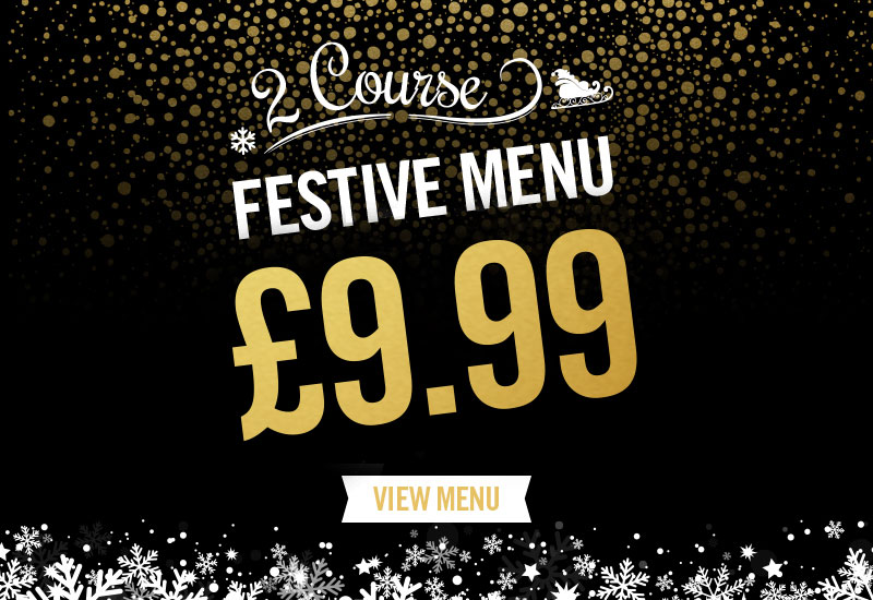 Festive Menu at The Crown Hotel