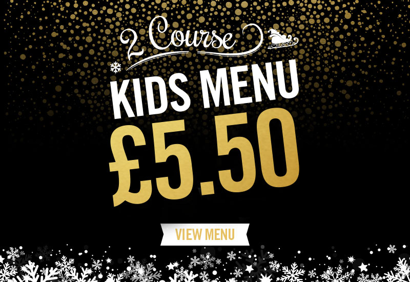 Kids Festive Menu at The Crown Hotel